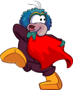 Gonzo with red cape