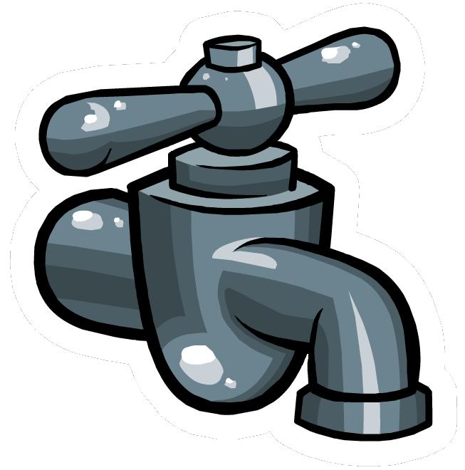 Pin de Grifo de Agua