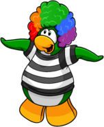 April Fools' Party 2011 login screen penguin