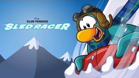 Club Penguin Sled Racer Gameplay