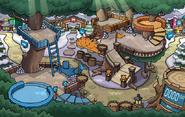 Fuerte Nevado de la Fiesta de Puffles 2015