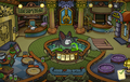 Halloween Party 2014 construction Puffle Hotel Lobby