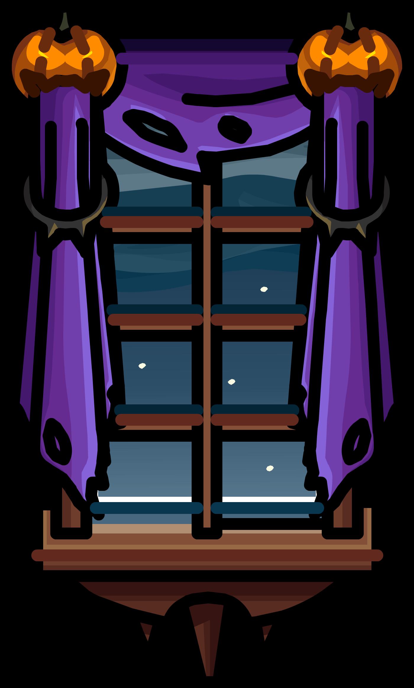Jack-O-Lantern Curtains