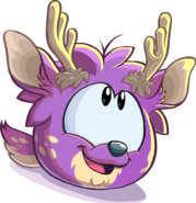 Purple Deer Puffle CP Times issue 485