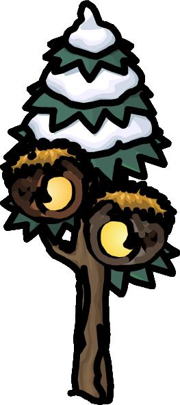 Casas del Árbol Silvestre Pufflística