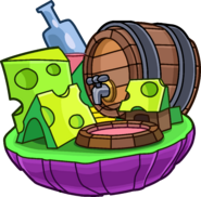 Food Island in Rockhopper's Mind