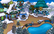 Merry Walrus Party Mine Shack