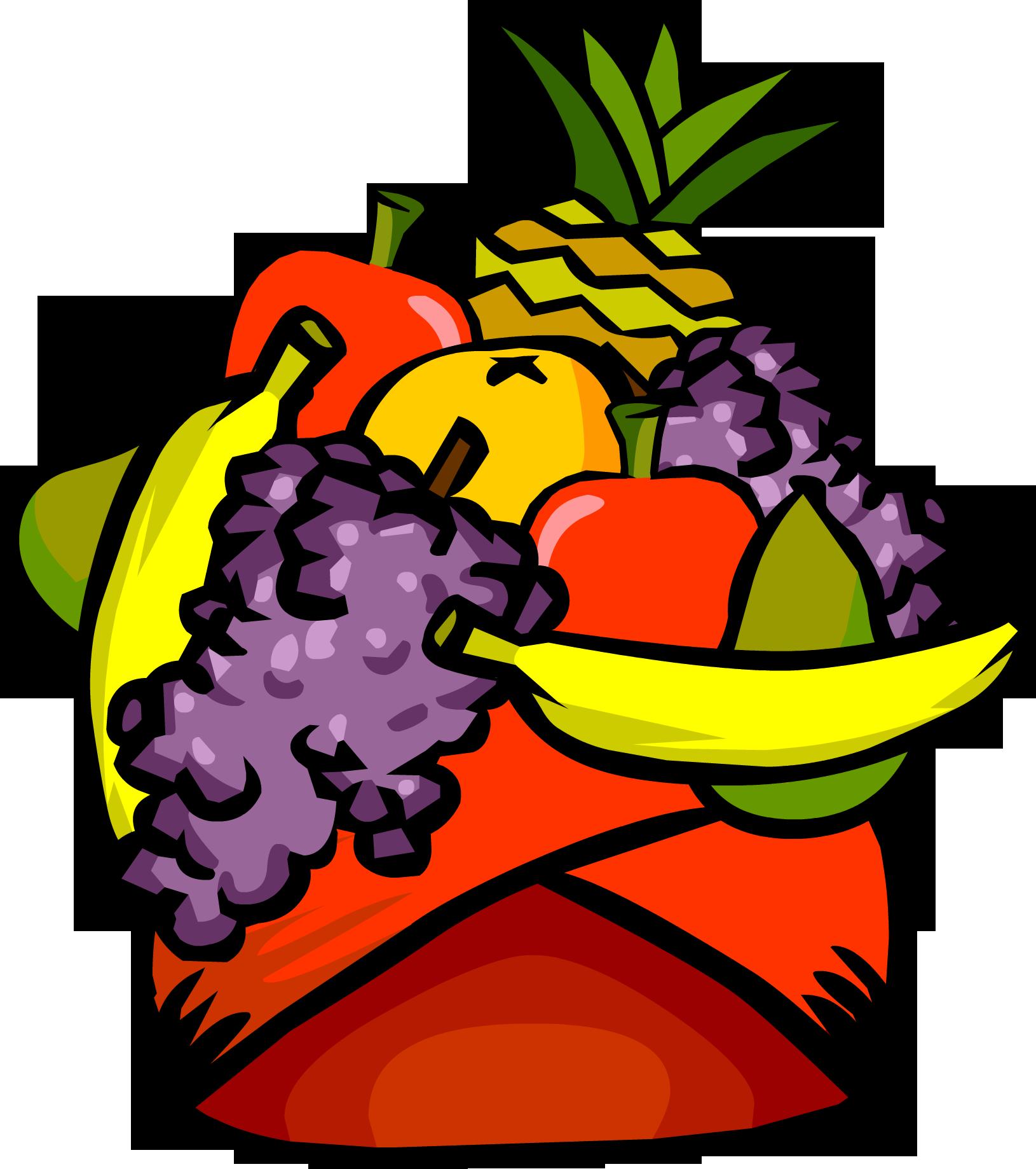 Fruit Headdress