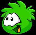 Green PuffleLaughing