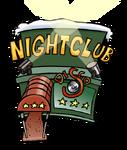 Night Club Building Earth Day 2011