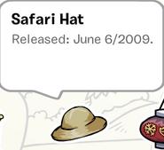 SafariHatPinStampBook