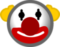 The Fair 2014 Emoticons Clown