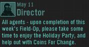 Director phone glitch