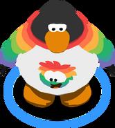 I Heart My Rainbow Puffle T-Shirt ingame
