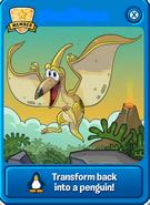 Yellow Pteranodon Player Card
