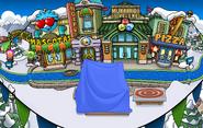 Plaza Fiesta Isla de Club Penguin