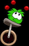 Puffle Verde 24