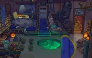 Halloween Party 2015 Coffee Shop secret lair