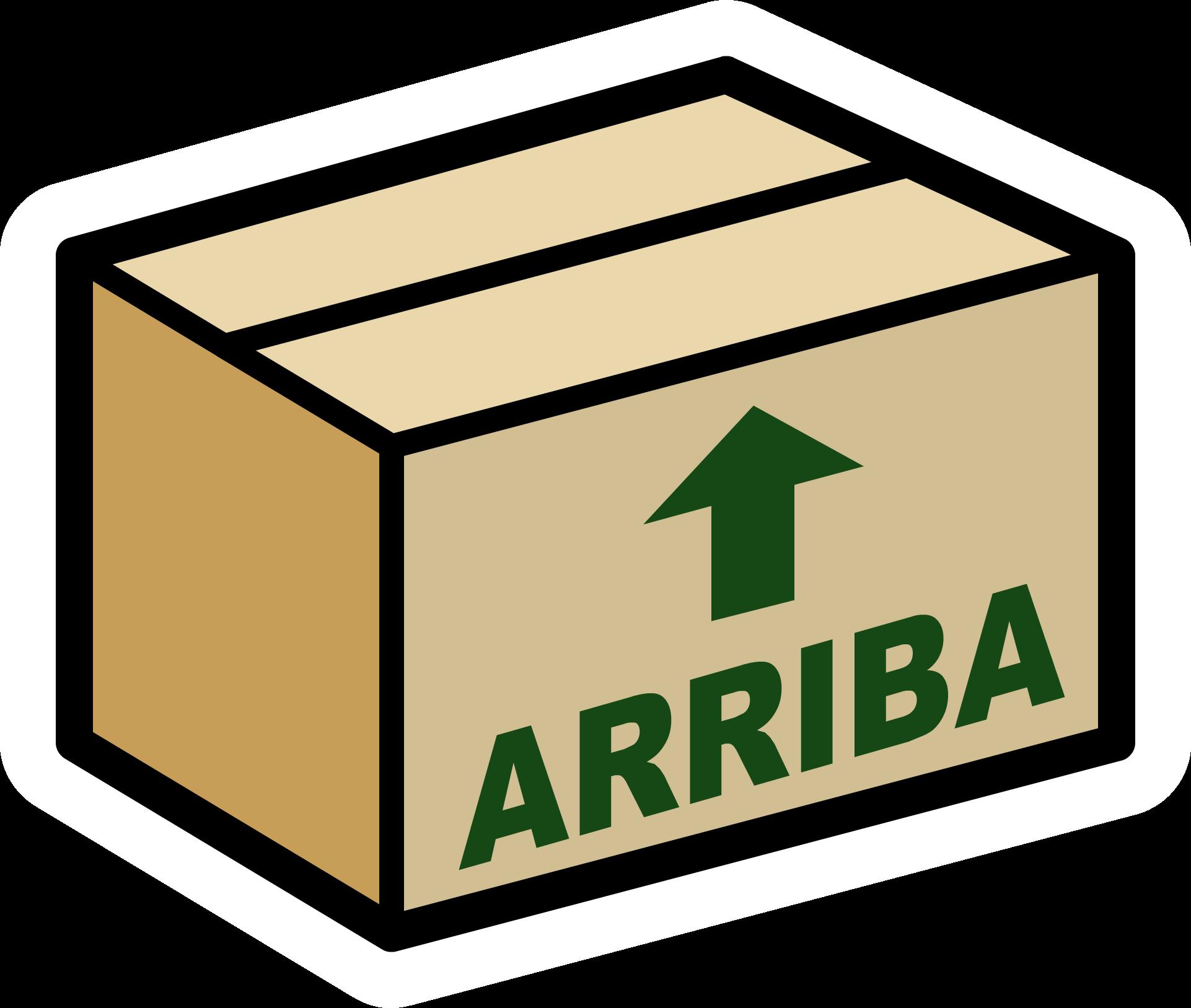 Pin de Caja de Cartón