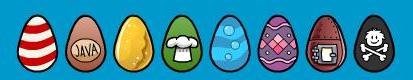 Búsqueda de Huevos de Pascua 2007