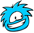 Blue Puffle in round up