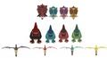 Tamaño de cada dinosaurio
