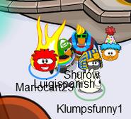 Mariocart25 with Shurow, Luigispanish and Klumpsfunny1