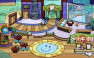Puffle Party 2012 Ski Lodge