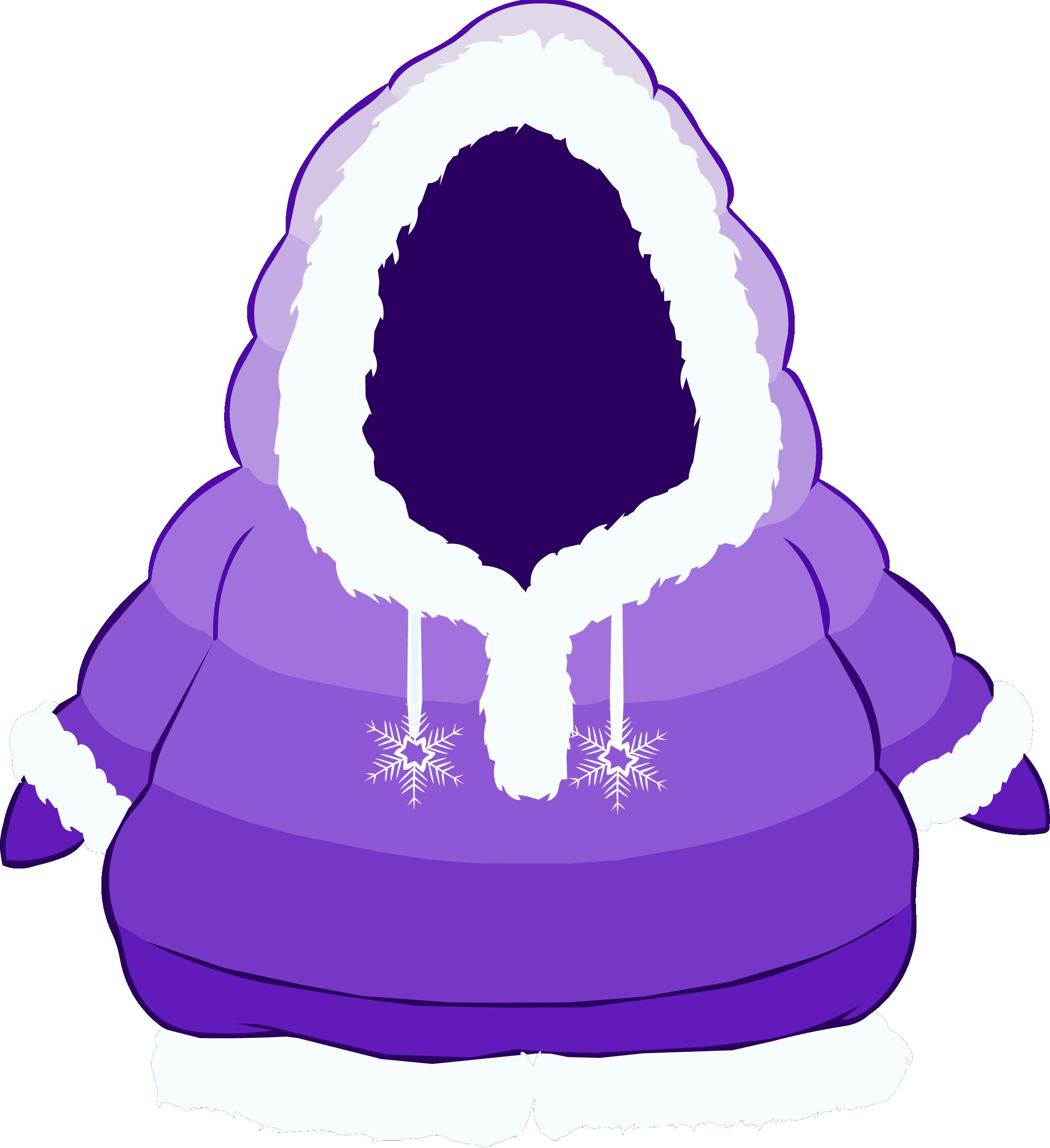 Abrigo Polar Violeta