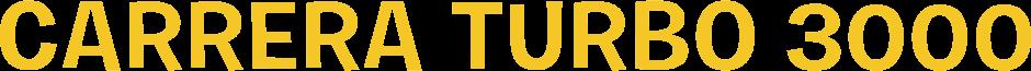 Carrera Turbo 3000