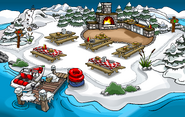 Muelle Campamento Pingüino 2007
