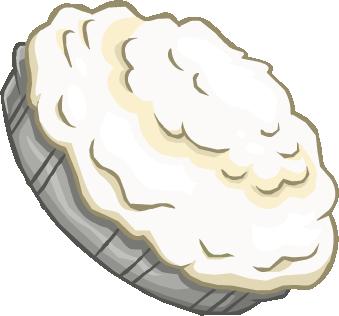 Pastel de Crema