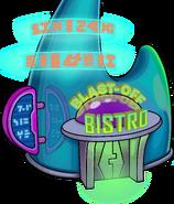 Blast-Off Bistro exterior