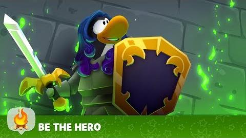 The Medieval Party - Be the Hero - Disney Club Penguin Island