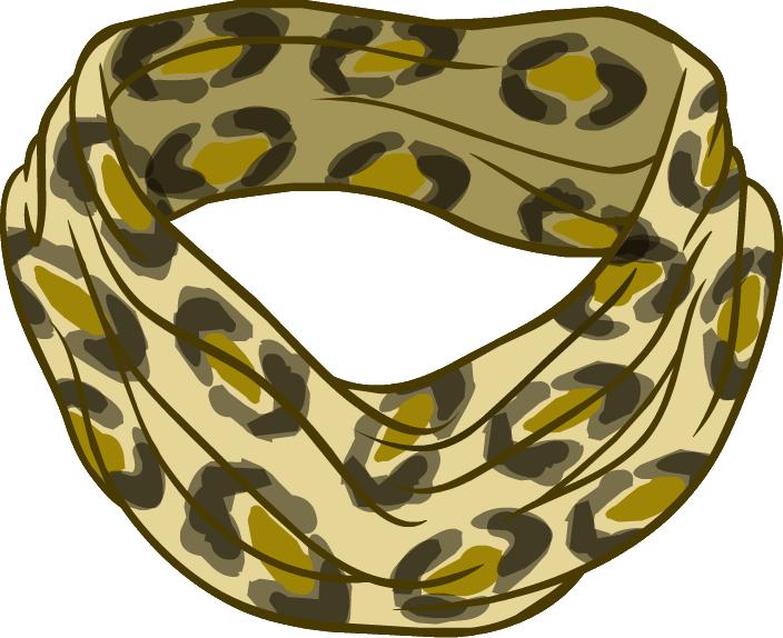 Bufanda Estampada de Leopardo