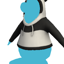 Cangurito de panda gigante