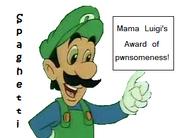 Mama Luigi award
