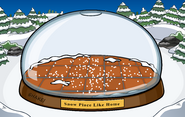 Snowglobe with location and flooring