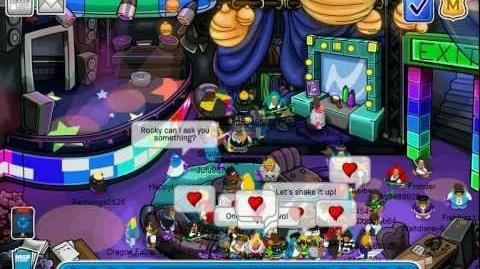 Club Penguin - Meeting CeCe - Ultimate Jam (July 2012)