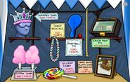 Fall Fair 2007 Prize Booth