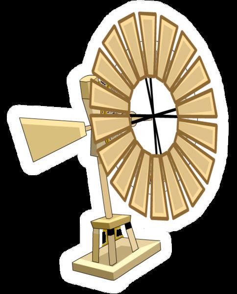 Pin de Molino de Viento