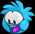 Blue PuffleLookingDown