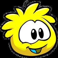 Cute yellow puffle