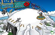 10th Anniversary Party Ski Hill