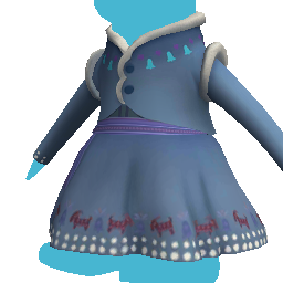 Anna's Winter Dress