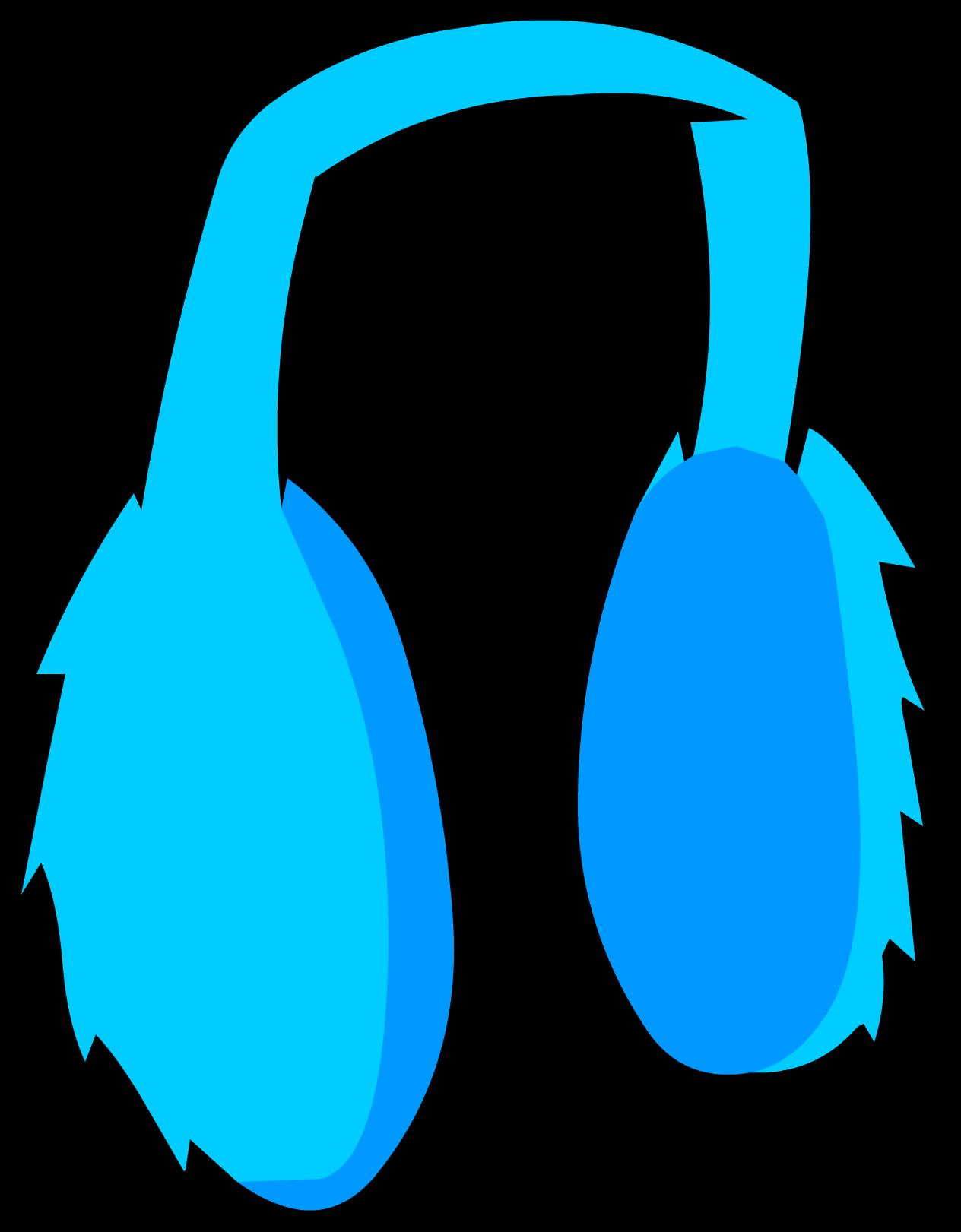 Blue Earmuffs