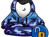 Cangurito de Hip-Hop Azul