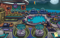 Halloween Party 2013 Puffle Hotel Roof