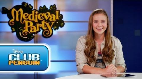 Club Penguin Medieval Party 2013 Disney Game on Commercial Tv HD
