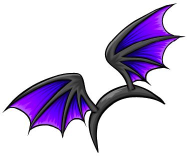 Alas de Murciélago Violetas